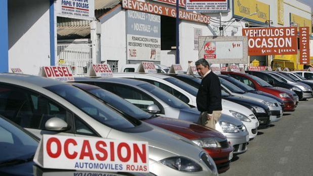 La venta de vehículos de ocasión ha bajado este mes.
