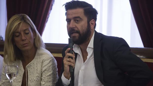 El portavoz del PSOE en el Ayuntamiento, Fran González.