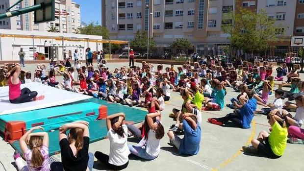 Las instalaciones del colegio público Carola Ribed de Cádiz