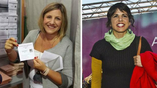 Irene García ha criticado duramente a Teresa Rodríguez.