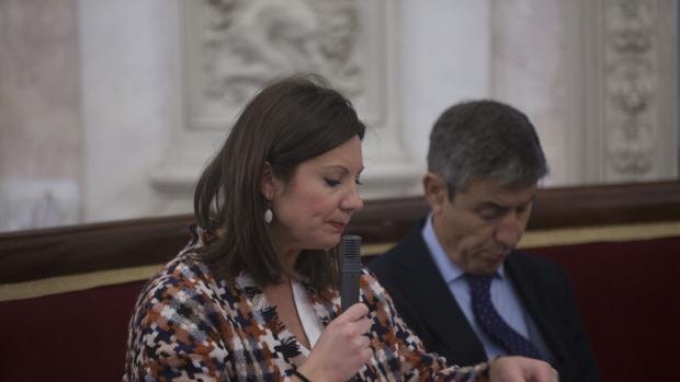 Los ediles de Ciudadanos, Pérez Dorao y Fernández-Trujillo.