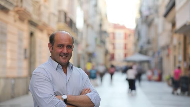 El candidato del Partido Popular a la Alcaldía de Cádiz, Juancho Ortiz.