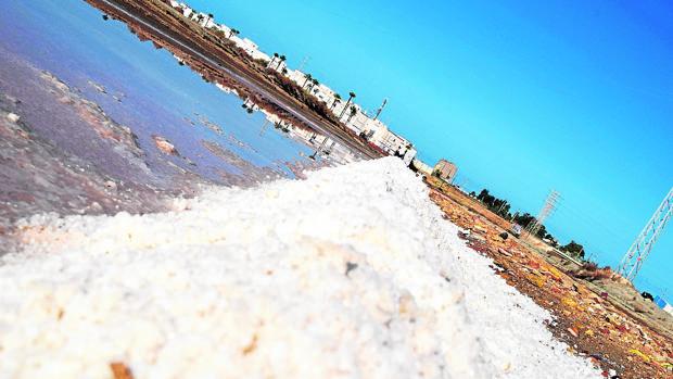 Una imagen de las salinas de la Bahía de Cádiz.