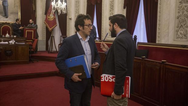 Podemos y PSOE han protagonizado una tensa semana.