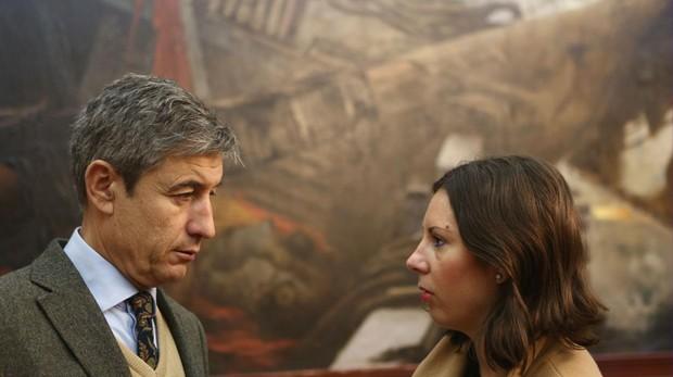 Juan Manuel Pérez Dorao y María Fernández Trujillo, ediles de Ciudadanos Cádiz