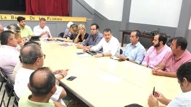 Reunión de responsables populares en la creación de la Mesa Permanente que coordinará el Plan.