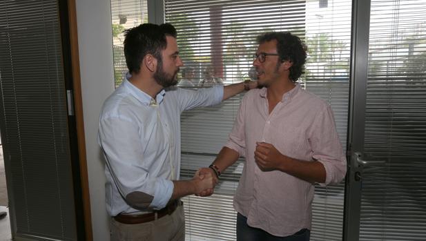 Fran González y José María González Kichi', en una imagen de archivo.