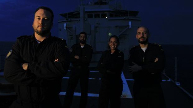 Luis Pelayo, José Ponce, Tamara Rage y Luis Iglesias.