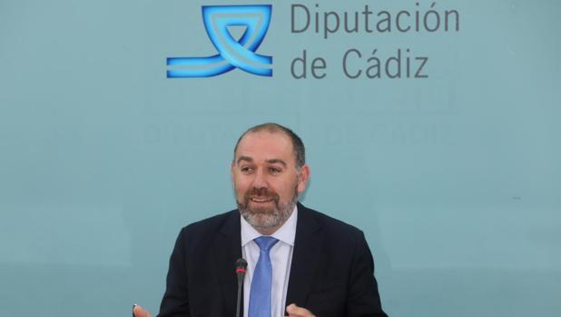 El responsable del área Económica de Diputación, Jesús Solís