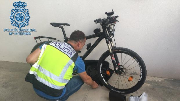 Imagen de la bicicleta eléctrica robada