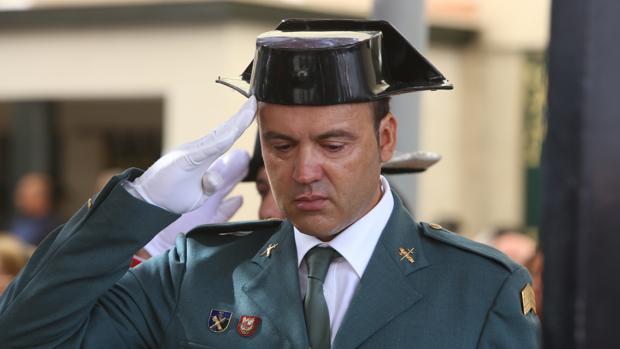 Su hermano Enrique, durante el acto de homenaje.