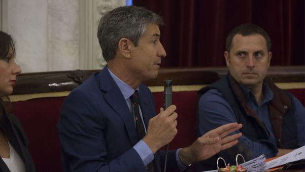 El portavoz de Ciudadanos en el Ayuntamiento, Juan Manuel Pérez Dorao.