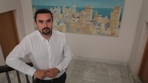 Martín Vila en la delegación municipal de Urbanismo