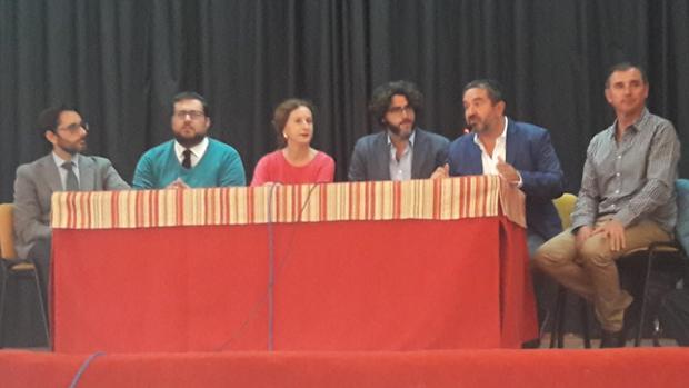 Clausura del programa Periodismo en las Aulas, hoy en el IES Isla de León