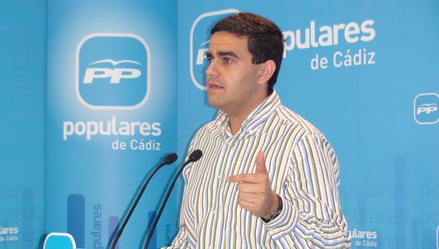 El dirigente popular José Ortiz.
