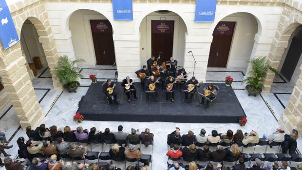 La sociedad Cádiz 2012 tiene su sede en la Casa de Iberoamérica.