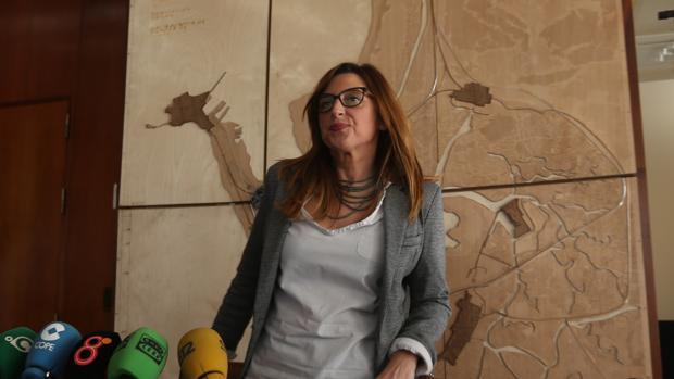 La nueva delegada del Estado en la Zona Franca, Victoria Rodríguez