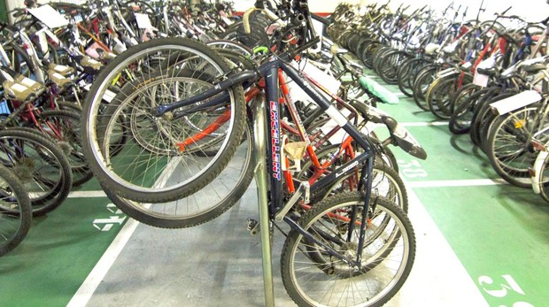 Almacén de bicicletas