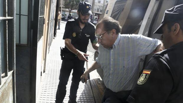 Foto de archivo de una de las últimas comparecencias de Jenaro Jiménez.