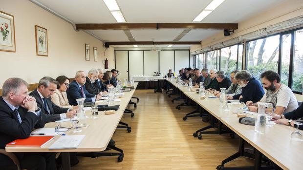 Imagen de una de las reuniones del plan industrial celebrada en Madrid