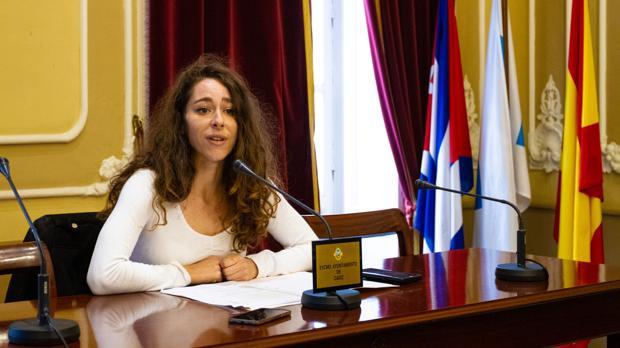 La concejal de Participación Ciudadana, María Romay.
