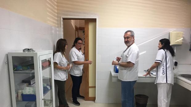 El área de extracciones del centro de salud Campo de las Beatas de Alcalá ha sido objeto de mejoras