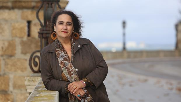 La candidata de Adelante Andalucía por Cádiz en las elecciones autonómicas.