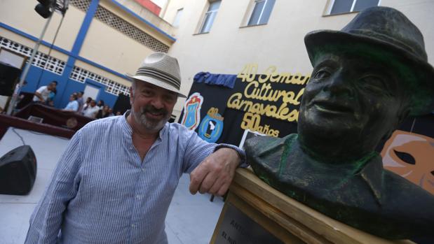 Antonio Martín, autor del Carnaval de Cádiz