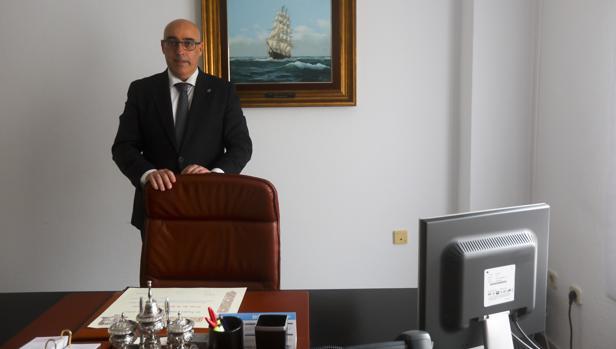 Pascual Valiente, en la sede del Colegio de Abogados.