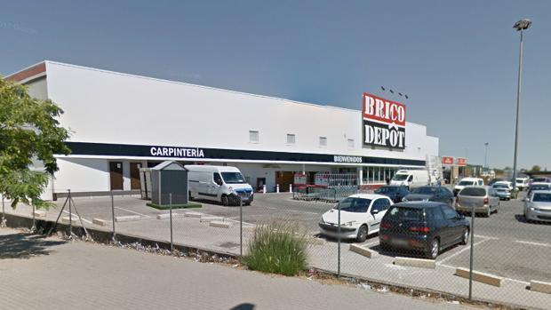 Tienda Brico Depot, en Jerez.