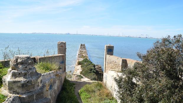 Vista actual de Punta Cantera.