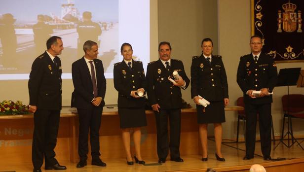 Cuerpos y Fuerzas de Seguridad también fueron distinguidos por su trabajo.