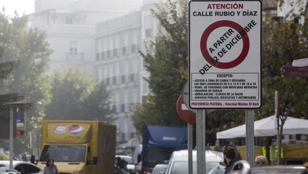 A partir del miércoles la entrada a Rubio y Díaz y otras calles estará restringido a vehículos.