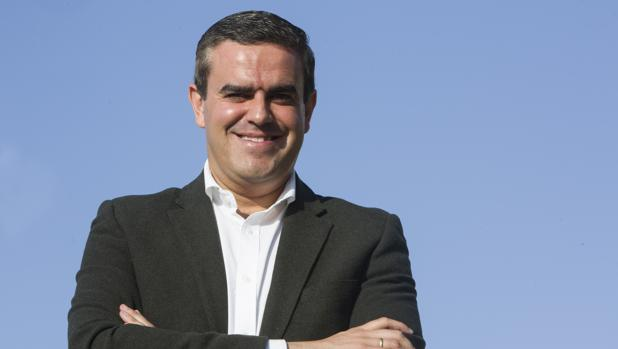 Pepe Ortiz tras una entrevista con LA VOZ el pasado mes de noviembre.