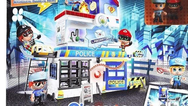 La comisaría de Policía de Playmobil.