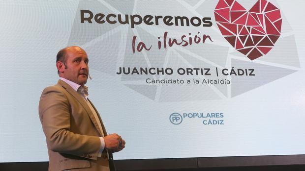 Juancho Ortiz es el candidato a la Alcaldía por el PP.