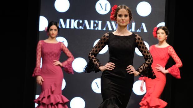 Pase de Micaela Villa en la XI Pasarela Flamenca de Jerez