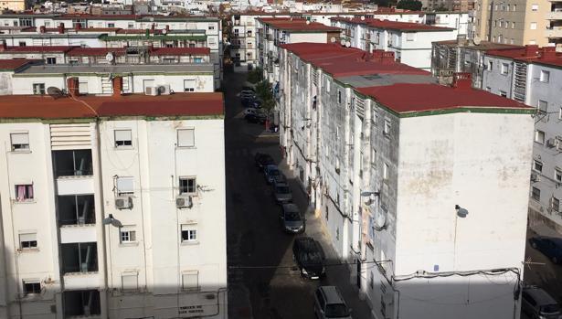 Barriada de Los Milagros en El Puerto.