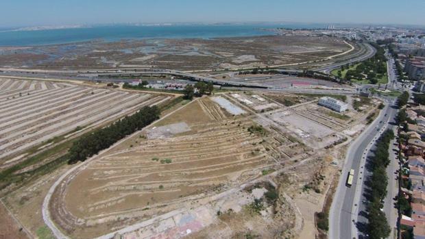 Vista aérea del terreno de Janer.