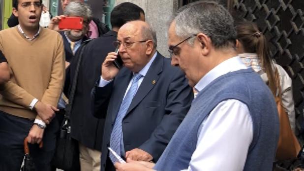 Martín José García y Pascual Saturio el día de la vista oral