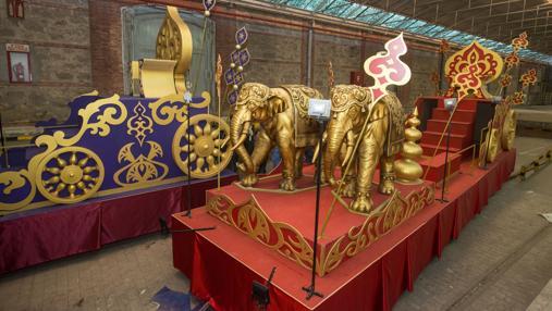 Carrozas De Reyes Magos Fotos.Horarios E Itinerarios De Las Cabalgatas De Reyes Magos De Cadiz