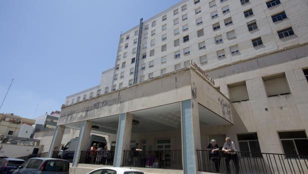 Hospital Puerta del Mar de Cádiz.