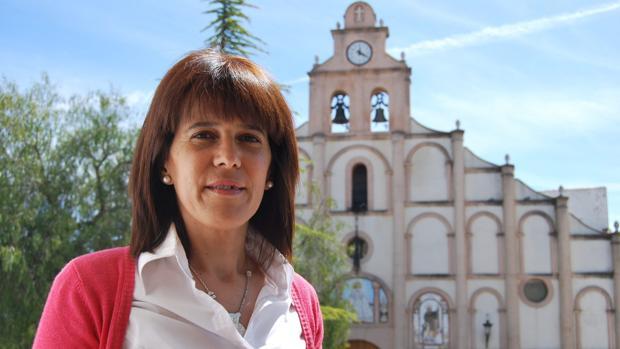 Dolores Caballero, alcaldesa de Alcalá del Valle, en una imagen de archivo.