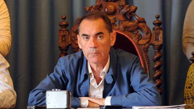 El exregidor de Villamartín, José Luis Calvillo, en una imagen de archivo.
