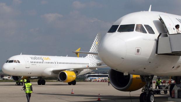 La compañía Vueling ha recuperado la conexión con Bilbao desde Jerez