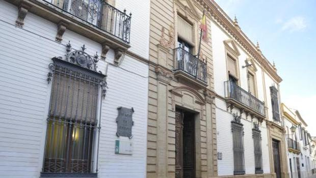 El palacio de Justicia de Écija