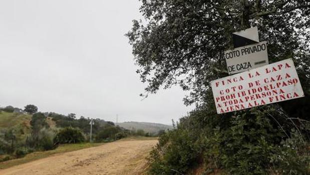 La finca La Lapa en el término municipal de Guillena donde se produjo el mortal accidente