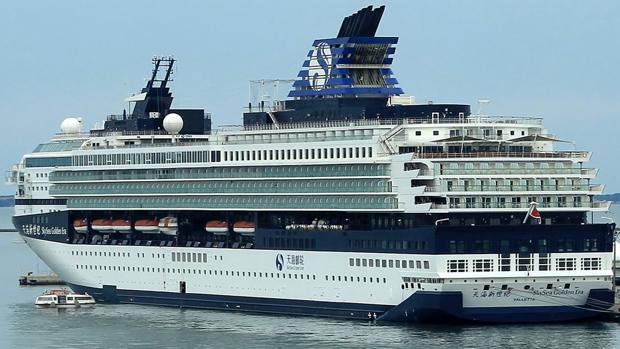 Imagen del crucero 'Golden Era', de la compañía Sky Sea Cruise, que se transfromará en 'Marella Explorer II'