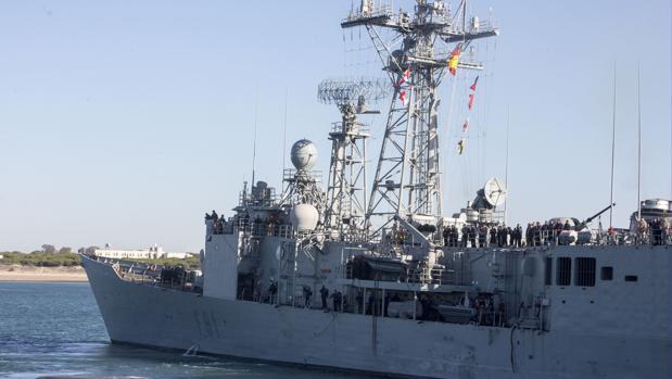 La fragata 'Santa María' estará dos meses integrada en una de las Agrupaciones Navales Permanentes de la OTAN.