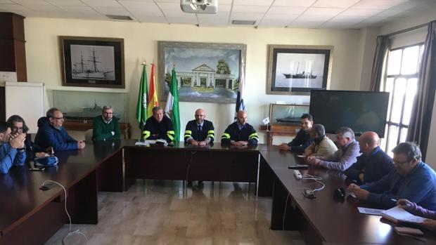 Reunión del nuevo director de los astilleros gaditanos con el comité de empresa de San Fernando